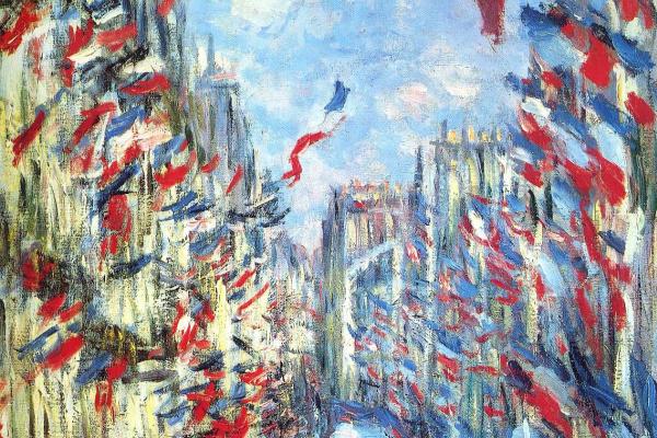 Клод Моне. Рю Монторгей в Париже, фестиваль 30 июня 1878