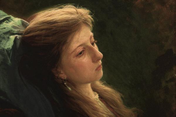 Иван Николаевич Крамской. Девушка с распущенной косой