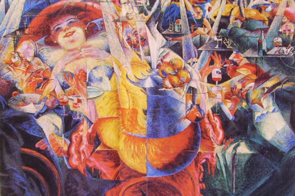Umberto Boccioni. Laughter