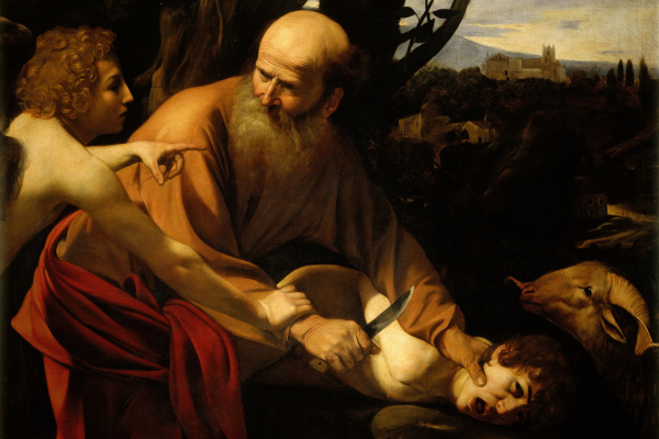 Michelangelo Merisi de Caravaggio. The Sacrifice Of Isaac