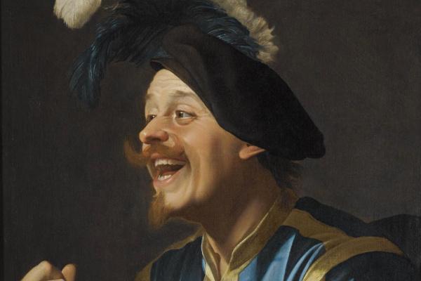 Геррит ван Хонтхорст. Смеющийся скрипач