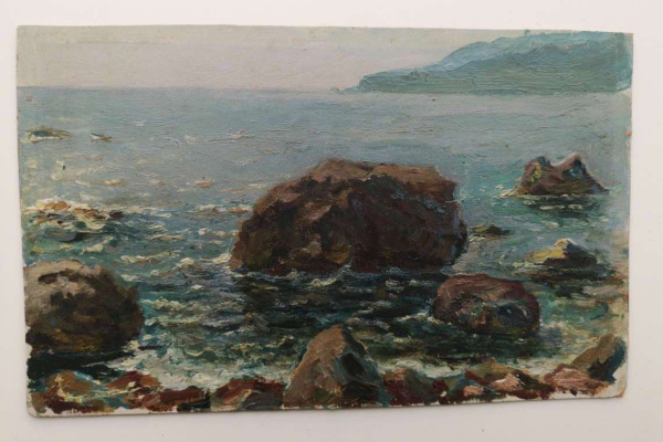 Ivan Filipovich Titov. Sunlight in the water