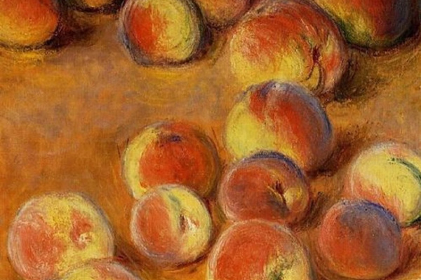 Клод Моне. Персики