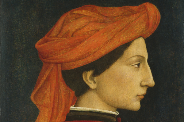 Domenico Veneziano. Portrait Of Matteo Olivieri