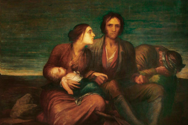 George Frederick Watts. Famine in Ireland