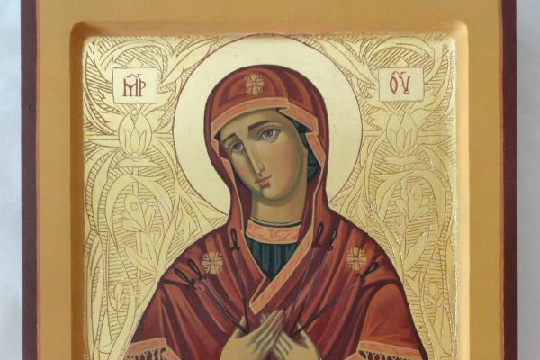Наталья Корба. Богородица Семистрельная