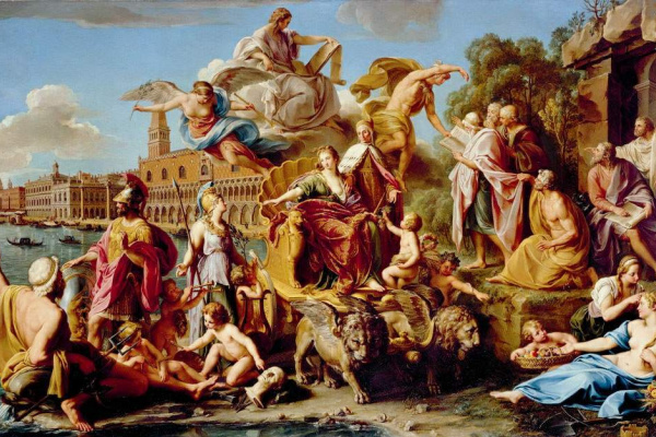 Pompeo Girolamo Batoni. The Triumph Of Venice