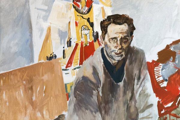 Евсей Евсеевич Моисеенко. Портрет художника Н.Н. Золотарева.