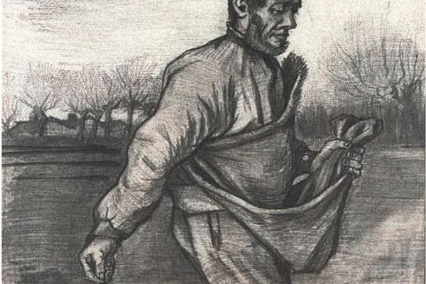 Винсент Ван Гог. Сеятель