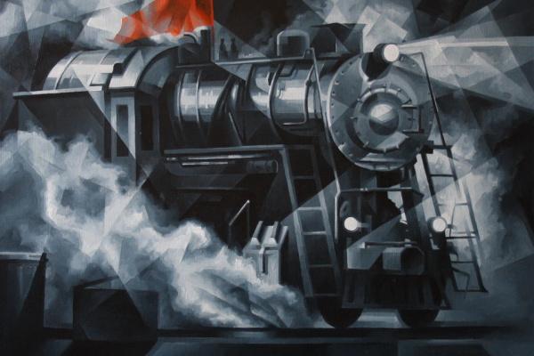 Vasily Vyacheslavovich Krotkov. This train. Post-cubutourism