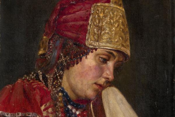 Vasily Ivanovich Surikov. Portrait of a boyar
