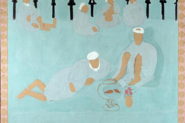 Анри Матисс. Арабская кофейня