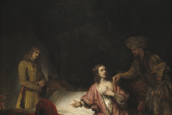 an analysis of rembrandt joseph accused by potiphars wife