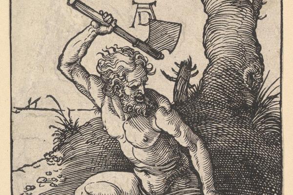 Альбрехт Дюрер. Каин убивает Авеля