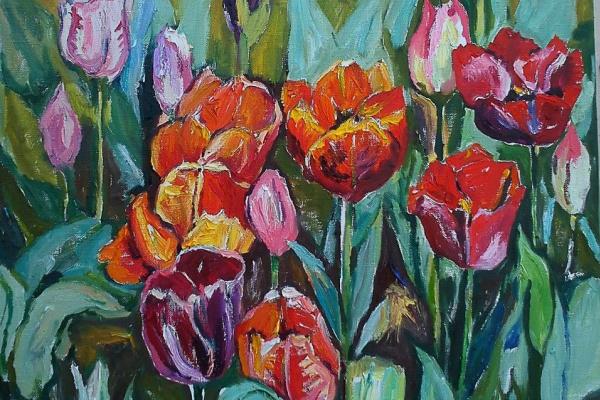 Alexandra Sirbu. Tulips