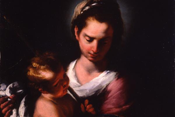 Бернардо Строцци. Мадонна с Младенцем
