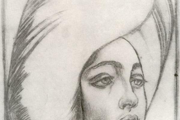 Лев Самойлович Бакст (Леон Бакст). Портрет мадам Т.