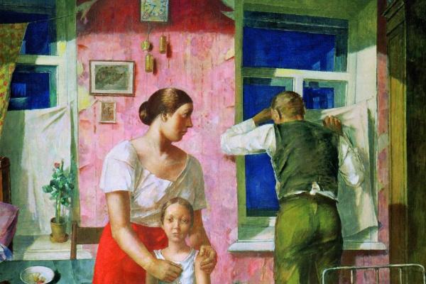 Kuzma Sergeevich Petrov-Vodkin. 1919. Anxiety