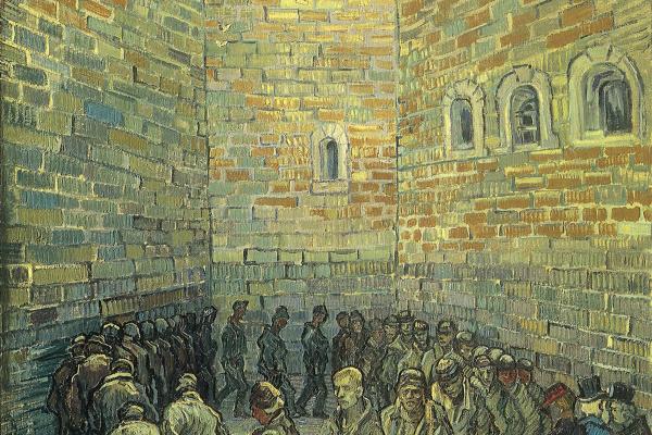 Винсент Ван Гог. Прогулка заключенных (по мотивам Доре)