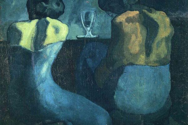 Пабло Пикассо. Две женщины, сидящие в баре