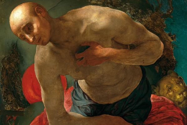 Якопо Понтормо. Покаяние святого Иеронима