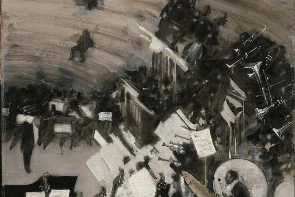 Джон Сингер Сарджент. Репетиция оркестра Жюля Этьенна Падлу