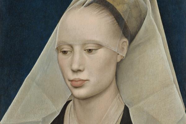 Rogier van der Weyden. Portrait of a lady