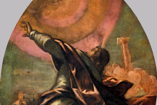Jacopo Tintoretto. Pillar of fire