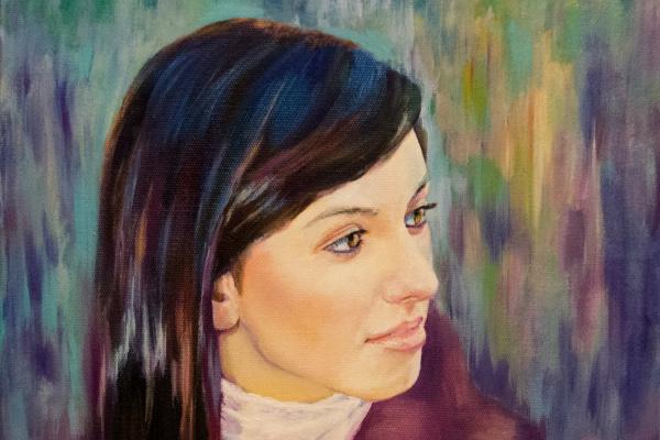 Мила Канеева. Портрет на заказ
