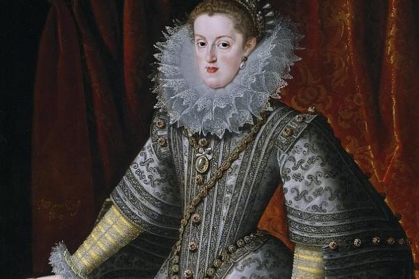 Бартоломе Гонсалес-и-Серрано. Портрет Маргариты Австрийской, королевы Испании