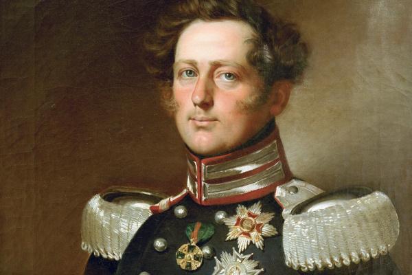 Франц Ксавер Винтерхальтер. Леопольд I, великий герцог Бадена