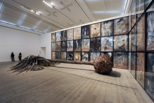 Anselm Kiefer. Вtрбное Sunday. Installation at the Tate