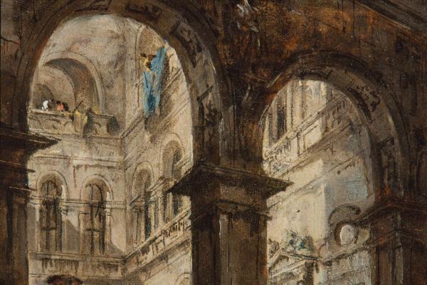 Francesco Guardi. An architectural capriccio