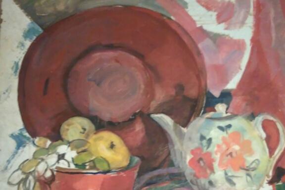 Valery Viktorovich Podgursky 1921 - 1990. Oriental still life