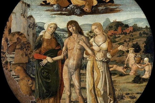 Benvenuto Di Girolamo. Hercules at the crossroads