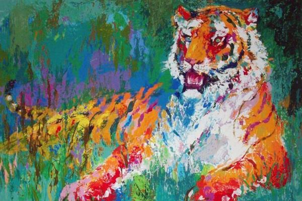 Лерой Нейман. Отдыхающий тигр