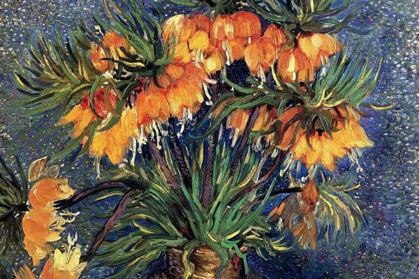 Винсент Ван Гог. Цветы в медной вазе
