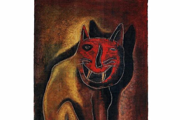 Arturo Carmona. Кошка Луизито