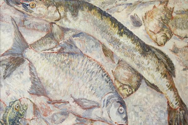 Mikhail Larionov. Fish
