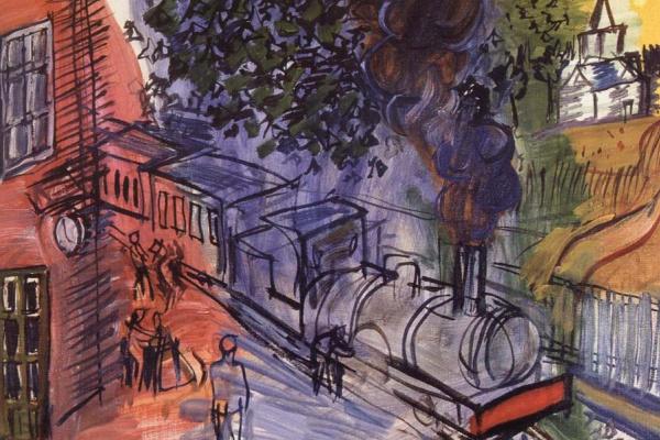 Рауль Дюфи. Поезд