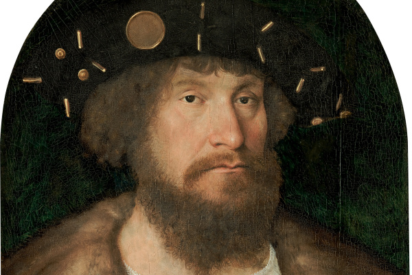 Michel Sittow. Portrait of the Danish King Christian II