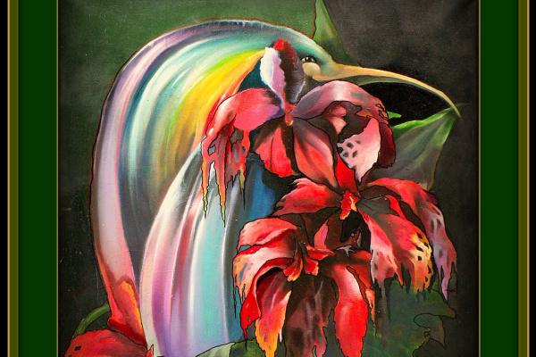 Владимир Сергеевич Барков. Цветочное существо