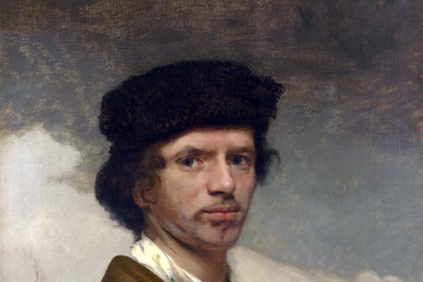 Карел Фабрициус. Молодой человек в меховой шапке и доспехах (возможно автопортрет)