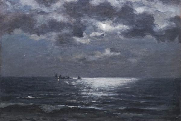 В.М.Секрет. Лунная ночь на море