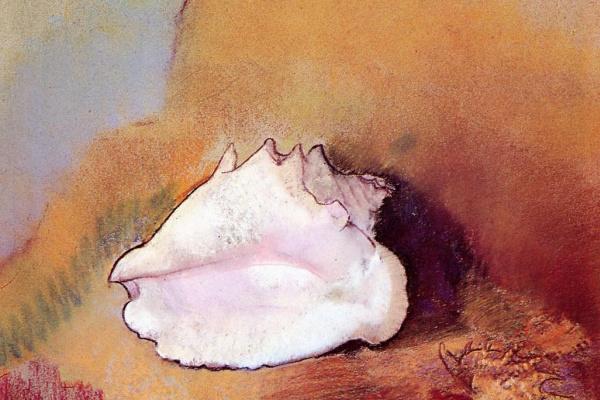 Odilon Redon. Seashell