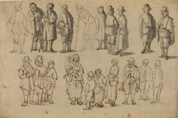 Ian Porcellis. Thumbnail images of peasants
