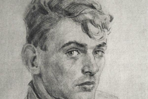 Вадим Иванович Одайник. Вадим Одайник (1925-1984) Автопортрет 1946