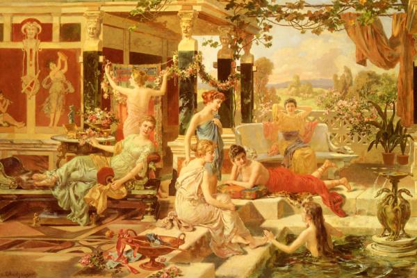 Эммануэль Оберхаузен. Римская баня