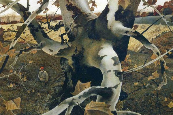 Andrew Wyeth. Hunter