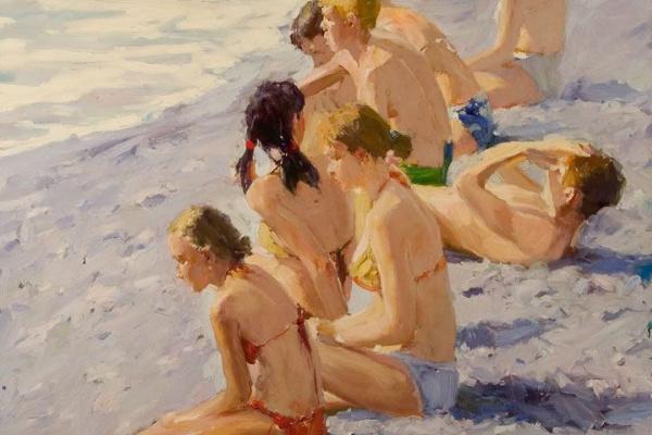 Renat Ramazanov. Near the sea